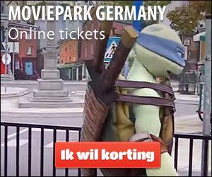 Moviepark Duitsland korting kaartjes