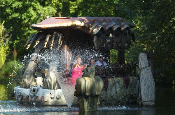 Waterattractie Wakobato in Phantasialand